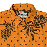 アロハシャツメンズ(男性用)「JuicyHibiscus」全2色半袖沖縄結婚式にアロハシャツ