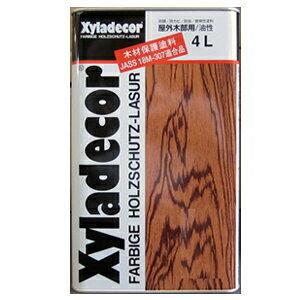 【送料無料】木材保護塗料キシラデコール116ブルーグレイ4L