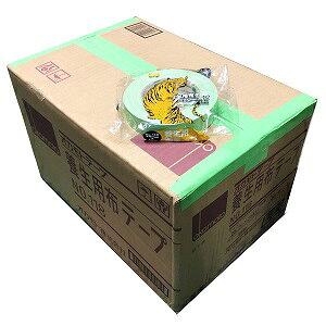 【送料無料】118 布テープ 幅25mm×25m 60巻入/箱 ガムテープ オカモト 緑 養生用テープ 養生テープ 塗装用テープ