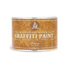 グラフィティーペイント メタルプライマー(グレー) 500ml(約約4.75平米分) ビビッドヴァン 水性 金属用 錆止め 下塗り塗料