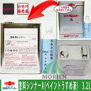 【クーポン配布中】塗料用シンナーA(ペイント薄め液) 3.2L 塗料販売
