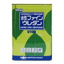 【クーポン配布中】水性ファインウレタンU100 インディアンレッド ツヤあり 15kg(約47〜58平米分) 日本ペイント ニッ…