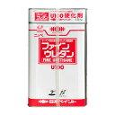 ファインウレタンU100 調色品(濃彩) ツヤあり 15kgセット(約45〜60平米分) 日本ペイント ニッペ 油性 鉄部・多目的 2液