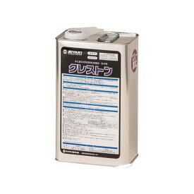 クレストン 4L(約20〜60平米分) ミヤキ 溶剤 石材用 保護剤 防汚剤