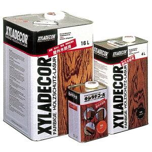 防虫、防カビ、木部用ステイン簡単塗装キシラデコール