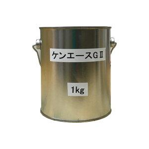 【クーポン配布中 即日発送】ケンエースG2 白 ホワイト ツヤけし 1kg(約3平米分) 日本ペイント ニッペ 弱溶剤 壁面用 1液