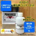 パナロック【硬化剤360g+シンナー4L】セット 調色【ロックペイント】