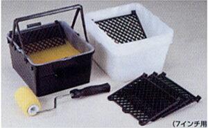 ローラーバケット Mセット (バケット2ヶ、ネット5枚、内容器20枚セット) (ヨトリヤマ/ペンキ/塗料)