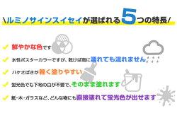 ルミノサインスイセイ250ml(水性蛍光塗料/シンロイヒ)【人気】