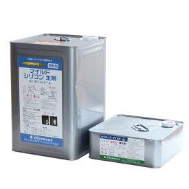 【送料無料】ハイルーフ マイルドシリコン遮熱型 15kgセット(大同塗料/屋根/弱溶剤/2液型)