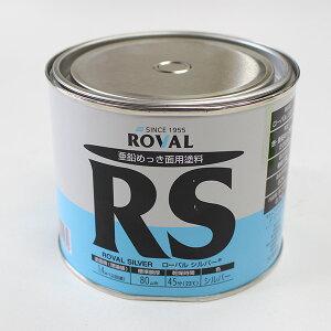 【ペコ缶処分特価セール品】ローバルシルバー 0.7kg(110792/ローバル/亜鉛めっき塗料/錆止め)