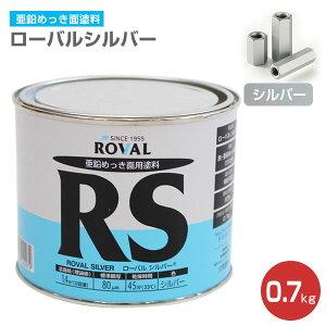 ローバルシルバー 0.7kg (110792/ローバル/亜鉛めっき塗料/錆止め)