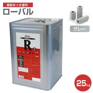 【送料無料】ローバル 25kg (ローバル/亜鉛めっき塗料/錆止め)