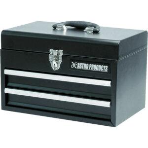 アストロプロダクツ コンパクトツールボックス 2段ベアリング ブラック(2003000003680)