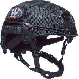 TEAMWENDY EXFIL LTP/カーボン用 メッシュヘルメットカバー(71MHCBK)
