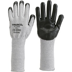 TRUSCO グラスファイバー手袋ニトリル手のひらコートロング M(TGL5295ZLM)