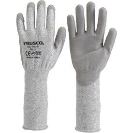 TRUSCO グラスファイバー手袋PU手のひらコートロング M(TGL5232ZLM)