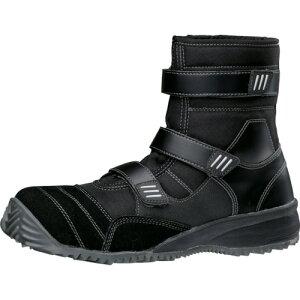 ミドリ安全 屈曲作業向け先芯入作業靴 TS−125ブラック 30cm(TS125BK30.0)
