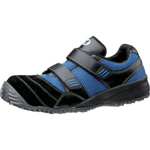 ミドリ安全 屈曲作業向け先芯入作業靴 TS−115ブラック/ブル− 30cm(TS115BKBL30.0)