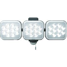ムサシ 12W×3灯 フリーアーム式LEDセンサーライト(LEDAC3036)