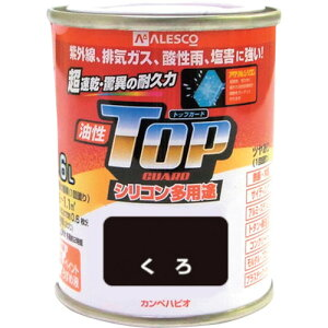 KANSAI カンペ 油性トップガード1.6Lくろ(1190021)