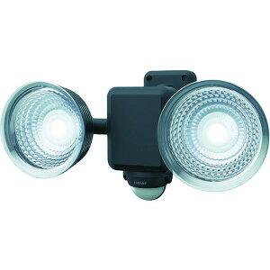 ダンケ 1.3W×2灯 フリーアーム式LED乾電池センサーライト (E42225)【(株)ムサシ】