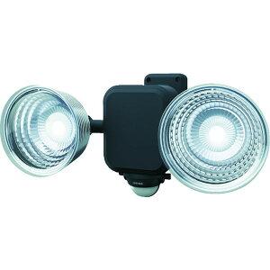 ダンケ 3.5W×2灯 フリーアーム式LED乾電池センサーライト (E42265)【(株)ムサシ】