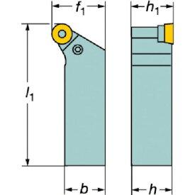サンドビック T−Max P ネガチップ用シャンクバイト(PRGNR2525M12)