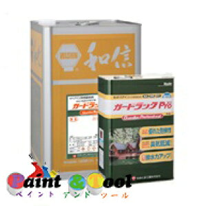 ガードラックPro WPステイン GP-1 ブラック 4L【和信化学工業株式会社】