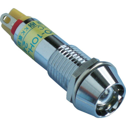 サカズメ メタルフレーム形LED表示灯 DO−10HJT DC24V 緑φ10(DO10HJTDC24VG)