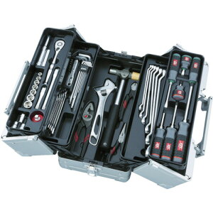 KTC 工具セット(両開きメタルケ−スタイプ)(SK3560W)