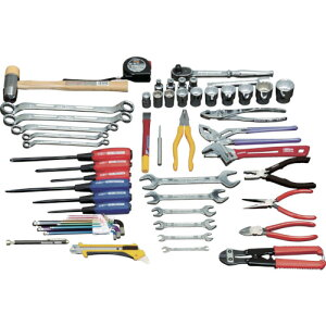 TRUSCO ピカイチ 産業用機械工具セット 49点(PKS1)