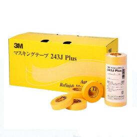 マスキングテープ No.243J Plus 12mm×18m 1箱(100巻)【3M(住友スリーエム株式会社)】
