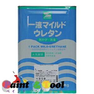 一液マイルドウレタン 艶有 ブルー 15kg(缶)【エスケー化研株式会社】