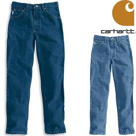 CARHARTT RELAVED-FIT TAPERED JEAN カーハート デニムパンツ ワークパンツ パンツ デニム ジーンズ PANT B17