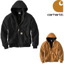 CARHARTT QUILTED FLANNEL LINE DUCK ACTIVE JACKET カーハート ジャケット メンズ アクティブジャケット フードジャ…