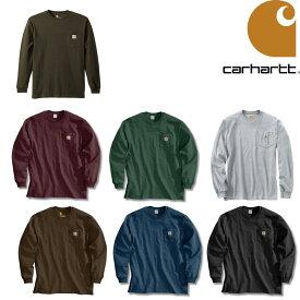 カーハート ロンT CARHARTT WORK WEAR POCKET L/S TEE ロングスリーブTEE Tシャツ K126