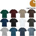 CARHARTT WORK WEAR POCKET TEE (12色展開) カーハート Tシャツ 半袖T 無地 定番 ポケットT