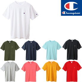 チャンピオン Tシャツ CHAMPION SHORT SLEEEVE TEE メンズ 半袖Tシャツ ベーシック 正規取扱店 無地T