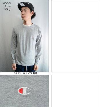 チャンピオンロンTCHAMPIONLONGSLEEVETEETシャツメンズロングスリーブTシャツベーシック正規取扱店