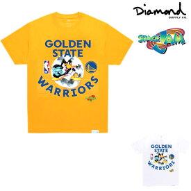 DIAMOND SUPPLY CO x SPACE JAM GOLDEN STATE TEE ダイヤモンドサプライ Tシャツ スペースジャム コラボレーション 限定 半袖T プリントT