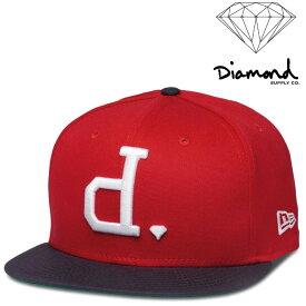 DIAMOND SUPPLY CO UN POLO FITTED CAP ダイヤモンドサプライ キャップ NEWERA ニューエラ