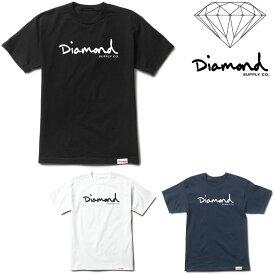 DIAMOND SUPPLY CO OG SCRIPT TEE (3色展開) ダイヤモンドサプライ Tシャツ T-SHIRT tee 半袖T プリントT ティーシャツ