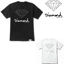 DIAMOND SUPPLY CO OG SIGN TEE (2色展開) ダイヤモンドサプライ Tシャツ T-SHIRT tee 半袖T プリントT ティーシャツ