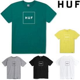 ハフ Tシャツ HUF BOX LOGO TEE (6色展開) HUF T-SHIRT tee tシャツ 半袖T プリントT ティーシャツ