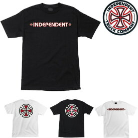 INDEPENDENT BAR CROSS TEE (2色展開)インディペンデント Tシャツ 半袖T プリントT