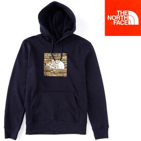 THE NORTH FACE BOXED IN PULL OVER HOODIE ノースフェイス パーカー (日本未発売USA企画) プリントパーカー ロゴパーカー プルオーバー メンズ