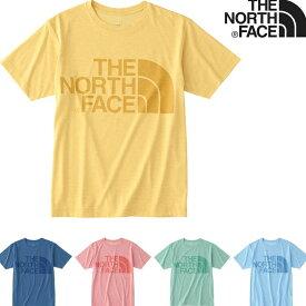 THE NORTH FACE S/S COLOR HEATHER LOGO TEE (5色展開) 【正規品】 ノースフェイス Tシャツ ショートスリーブカラーヘザーロゴティー メンズ