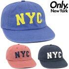 ONLYNEWYORKNYSTARSNAPBACKCAP(3色展開)【オンリーニューヨーク・SNAPBACK・スナップバック・CAP・キャップ・】