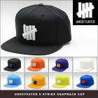 UNDEFEATED5STRIKESNAPBACKCAP
